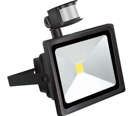 PIR sensor floodlights